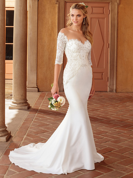 2317 gown from the 2018 Casablanca Bridal collection, as seen on Bride.Canada
