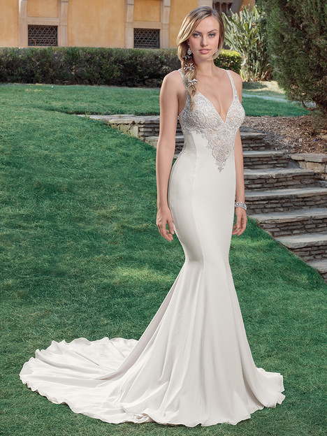 2318 gown from the 2018 Casablanca Bridal collection, as seen on Bride.Canada