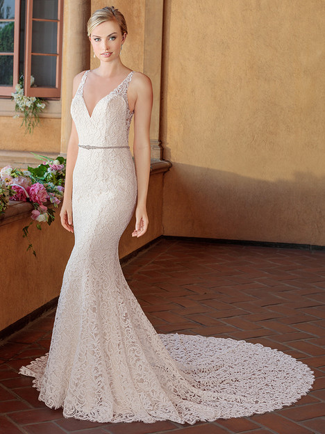 2319 gown from the 2018 Casablanca Bridal collection, as seen on Bride.Canada