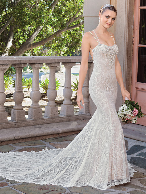 2322 gown from the 2018 Casablanca Bridal collection, as seen on Bride.Canada