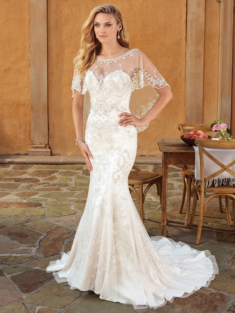 2323 gown from the 2018 Casablanca Bridal collection, as seen on Bride.Canada