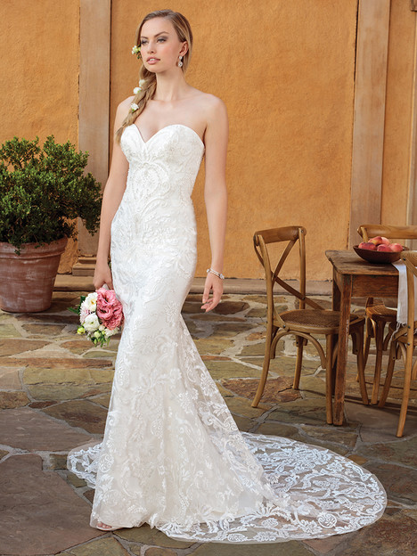 2326 gown from the 2018 Casablanca Bridal collection, as seen on Bride.Canada