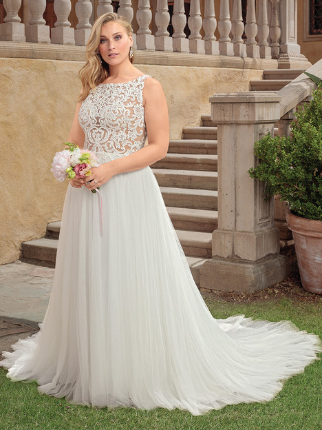 2310 (Classic Fit) gown from the 2018 Casablanca Bridal collection, as seen on Bride.Canada