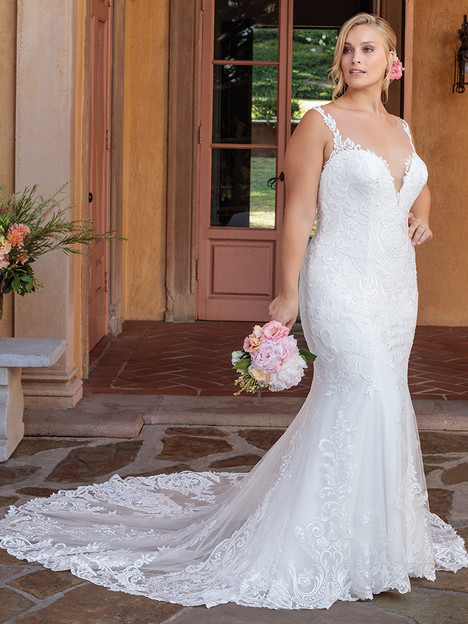 2328 (Classic Fit) gown from the 2018 Casablanca Bridal collection, as seen on Bride.Canada