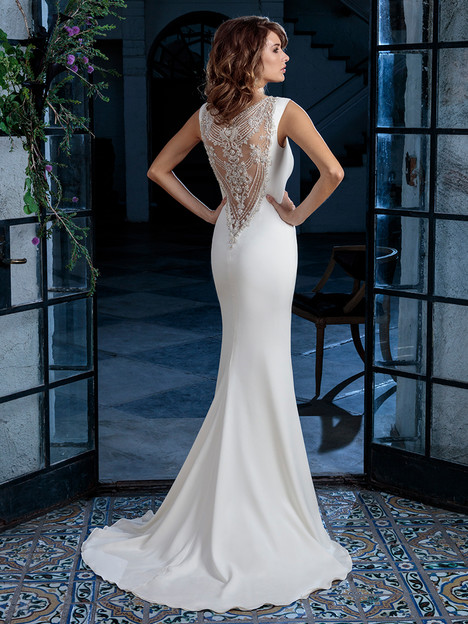 C131 (back) gown from the 2018 Amare collection, as seen on Bride.Canada