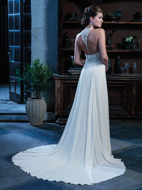 C132 (back) gown from the 2018 Amare collection, as seen on Bride.Canada