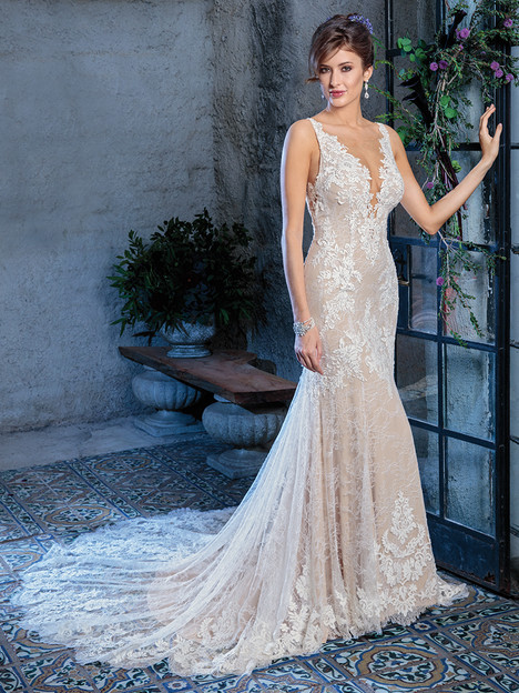 C136 gown from the 2018 Amare collection, as seen on Bride.Canada