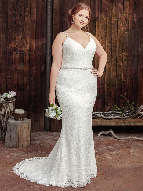 BL259 (Classic Fit) gown from the 2018 Beloved By Casablanca collection, as seen on Bride.Canada
