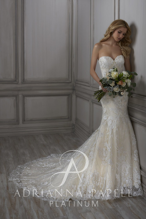 31063 gown from the 2018 Adrianna Papell collection, as seen on Bride.Canada