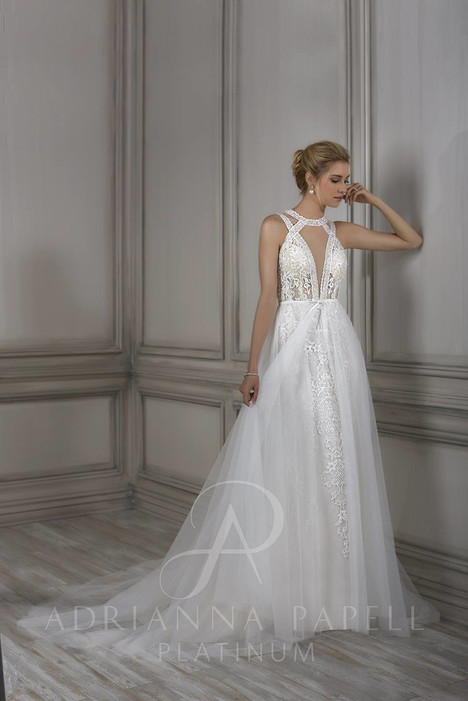 31064 gown from the 2018 Adrianna Papell collection, as seen on Bride.Canada