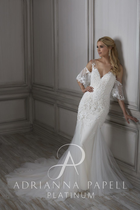 31072 gown from the 2018 Adrianna Papell collection, as seen on Bride.Canada