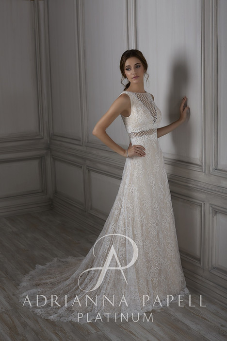 31073 gown from the 2018 Adrianna Papell collection, as seen on Bride.Canada