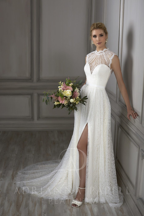31074 gown from the 2018 Adrianna Papell collection, as seen on Bride.Canada