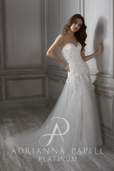 31078 gown from the 2018 Adrianna Papell collection, as seen on Bride.Canada