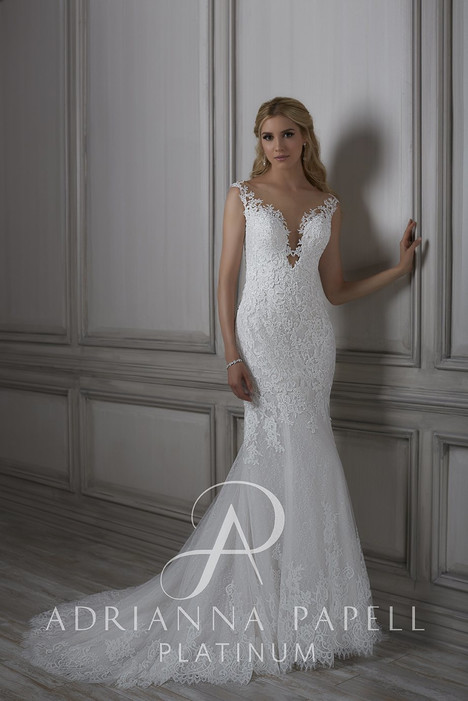 31079 gown from the 2018 Adrianna Papell collection, as seen on Bride.Canada