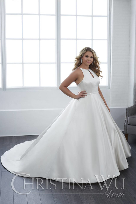 29300 gown from the 2018 Christina Wu: Love collection, as seen on Bride.Canada