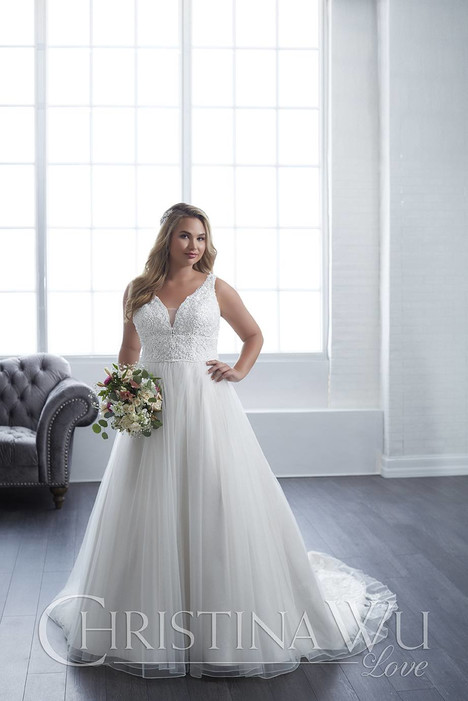 29302 gown from the 2018 Christina Wu: Love collection, as seen on Bride.Canada