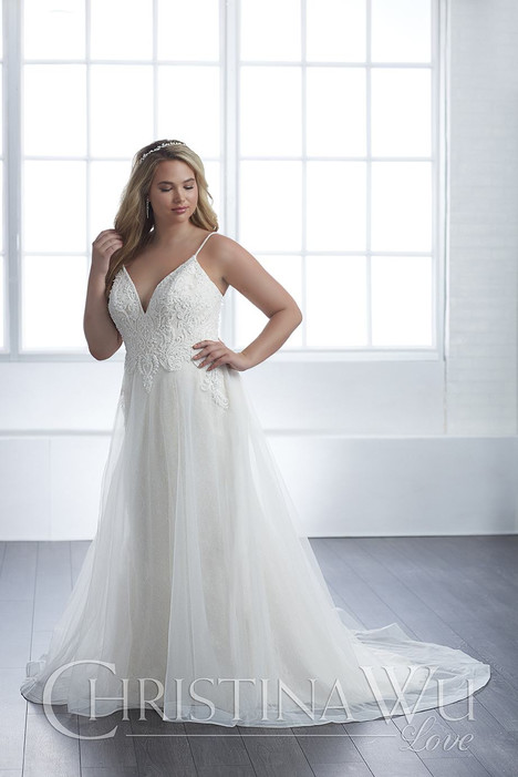 29305 gown from the 2018 Christina Wu: Love collection, as seen on Bride.Canada