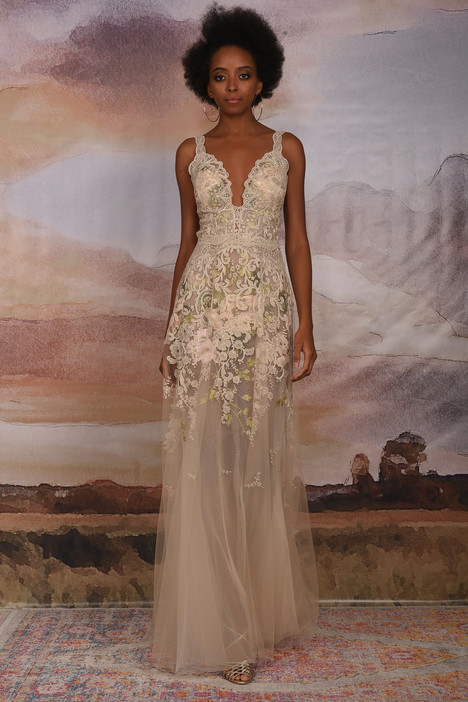 Gypsy Rose gown from the 2018 Claire Pettibone: Couture collection, as seen on Bride.Canada