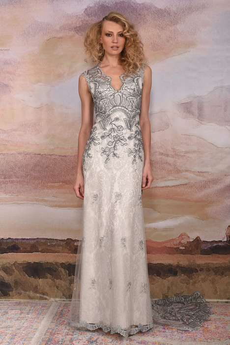 Horizon gown from the 2018 Claire Pettibone: Couture collection, as seen on Bride.Canada