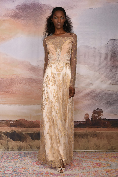 Marrakech gown from the 2018 Claire Pettibone Couture collection, as seen on Bride.Canada