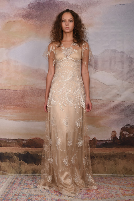 Seychelles gown from the 2018 Claire Pettibone Couture collection, as seen on Bride.Canada