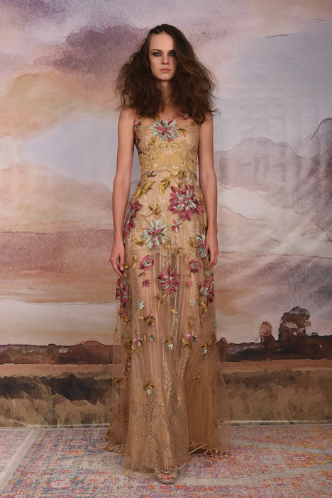 Shangri-la gown from the 2018 Claire Pettibone Couture collection, as seen on Bride.Canada