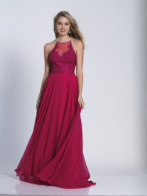 3123 gown from the 2018 Dave & Johnny Special Occasions collection, as seen on Bride.Canada