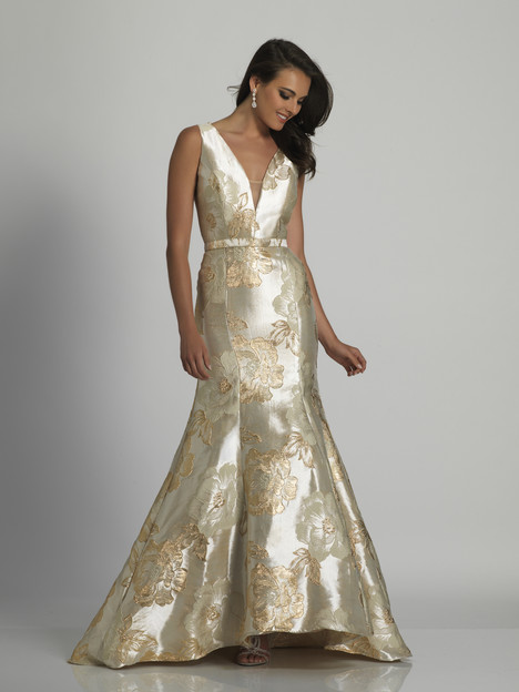 3137 gown from the 2018 Dave & Johnny Special Occasions collection, as seen on Bride.Canada