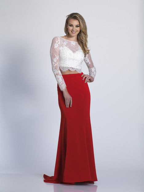 3143 gown from the 2018 Dave & Johnny Special Occasions collection, as seen on Bride.Canada