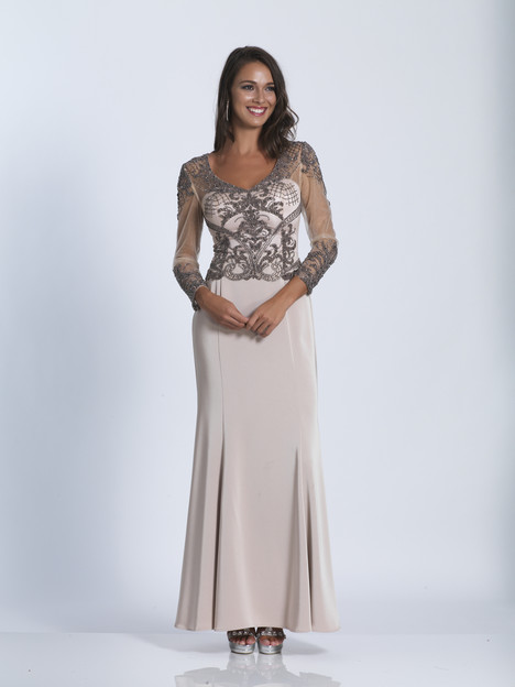 3220 gown from the 2018 Dave & Johnny Special Occasions collection, as seen on Bride.Canada