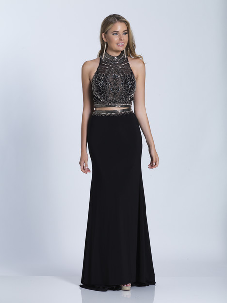 3315 gown from the 2018 Dave & Johnny Special Occasions collection, as seen on Bride.Canada