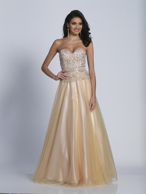 3321 gown from the 2018 Dave & Johnny Special Occasions collection, as seen on Bride.Canada