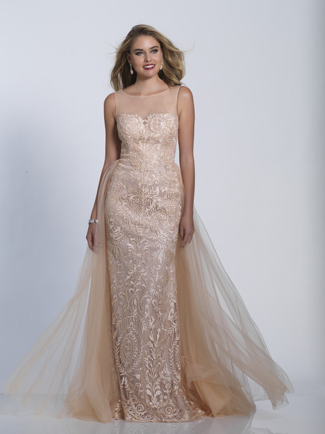 3326 gown from the 2018 Dave & Johnny Special Occasions collection, as seen on Bride.Canada