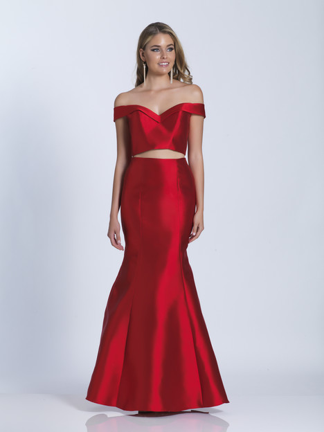 3349 gown from the 2018 Dave & Johnny Special Occasions collection, as seen on Bride.Canada