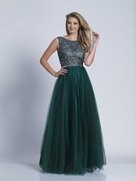 3359 gown from the 2018 Dave & Johnny Special Occasions collection, as seen on Bride.Canada