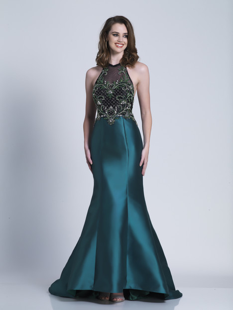 3454 gown from the 2018 Dave & Johnny Special Occasions collection, as seen on Bride.Canada