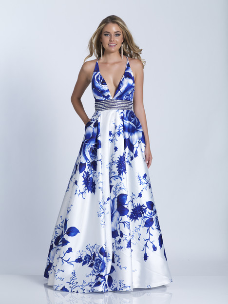 3474 gown from the 2018 Dave & Johnny Special Occasions collection, as seen on Bride.Canada
