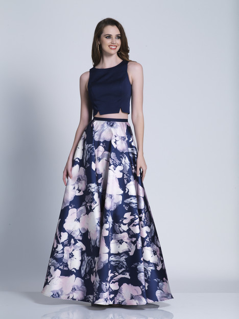 3499 gown from the 2018 Dave & Johnny Special Occasions collection, as seen on Bride.Canada