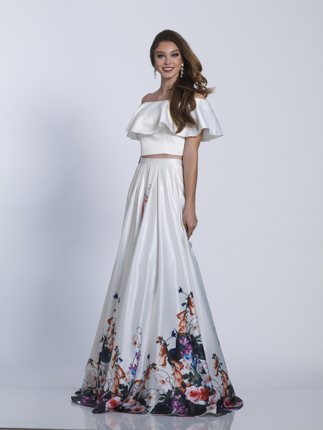 3516 gown from the 2018 Dave & Johnny Special Occasions collection, as seen on Bride.Canada