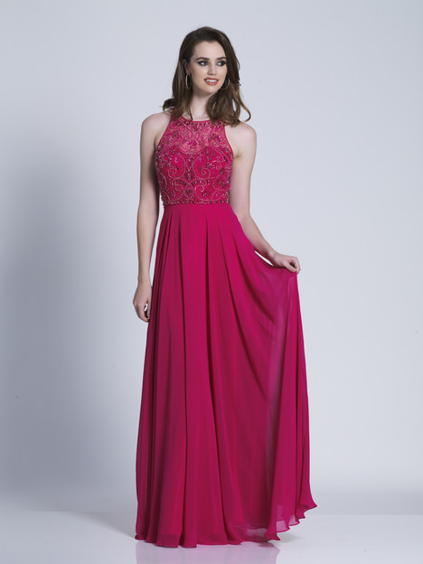 3531 gown from the 2018 Dave & Johnny Special Occasions collection, as seen on Bride.Canada
