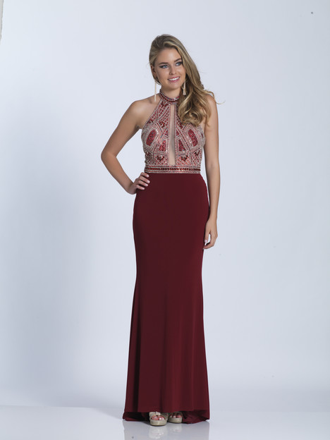 4878 gown from the 2018 Dave & Johnny Special Occasions collection, as seen on Bride.Canada