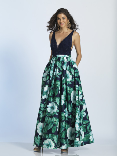 4912 gown from the 2018 Dave & Johnny Special Occasions collection, as seen on Bride.Canada