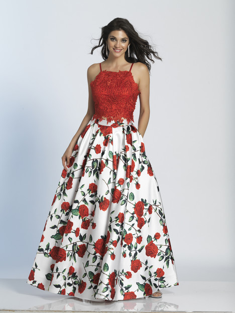 5265 gown from the 2018 Dave & Johnny Special Occasions collection, as seen on Bride.Canada