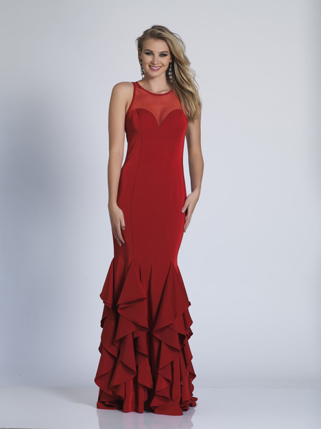 5626 gown from the 2018 Dave & Johnny Special Occasions collection, as seen on Bride.Canada