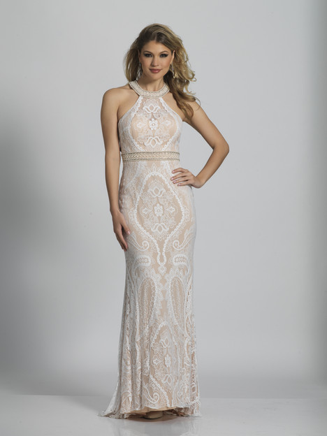 5743 gown from the 2018 Dave & Johnny Special Occasions collection, as seen on Bride.Canada