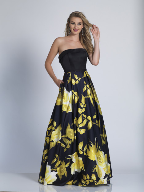 5793 gown from the 2018 Dave & Johnny Special Occasions collection, as seen on Bride.Canada