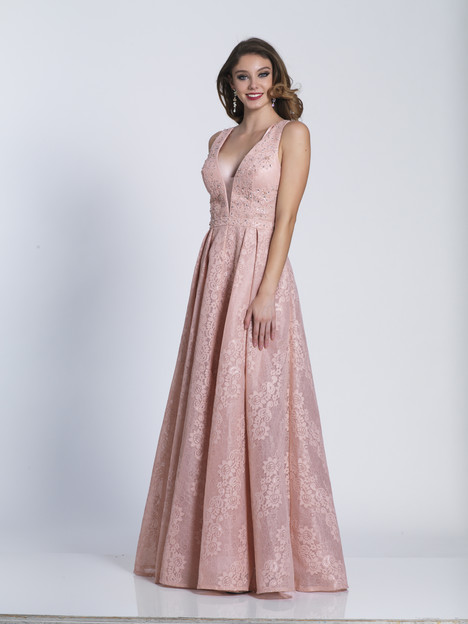 5853 gown from the 2018 Dave & Johnny Special Occasions collection, as seen on Bride.Canada