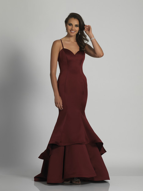 5861 gown from the 2018 Dave & Johnny Special Occasions collection, as seen on Bride.Canada