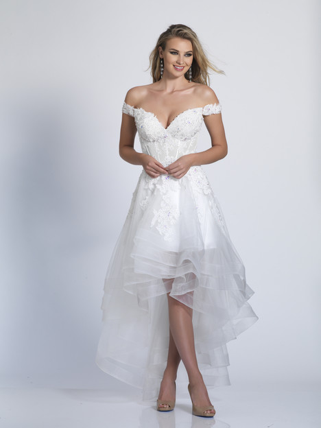 5997 gown from the 2018 Dave & Johnny Special Occasions collection, as seen on Bride.Canada